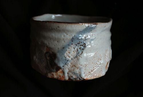 "Bol à thé ""SHINO"" de YAMAGUCHI Makoto"