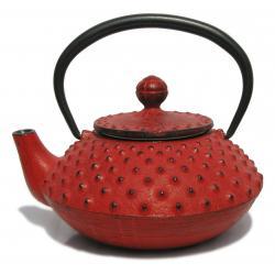 Petite th i re japonaise rouge for Accessoire cuisine japonaise