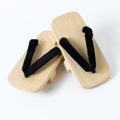 Sandale japonaise geta dents en bois for Accessoire cuisine japonaise